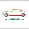 Citroen DS 19 poster