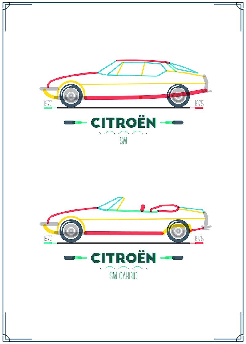 Citroen-SM_Poster