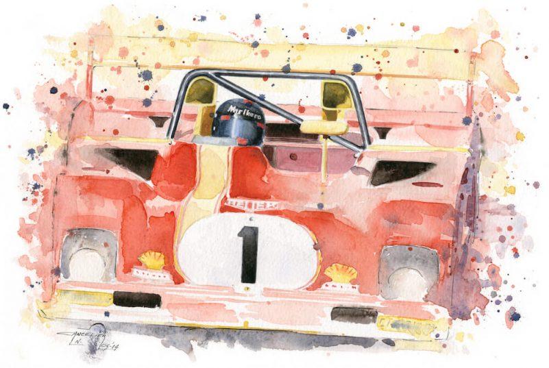 Ferrari 312 art