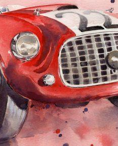 Ferrari 166_detail