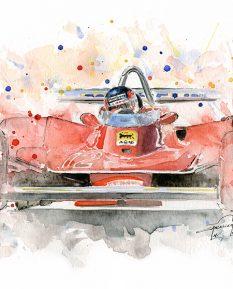 Ferrari-F1-T4-gilles-villeneuve-poster-print