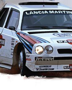 Lancia Delta S4_detail