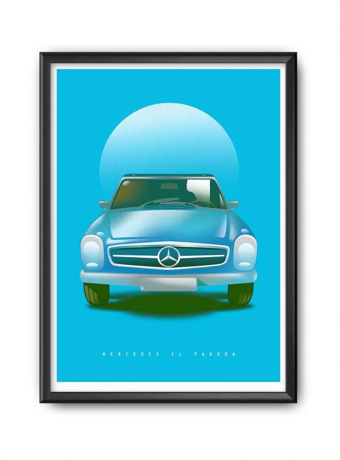 Mercedes-Benz SL poster