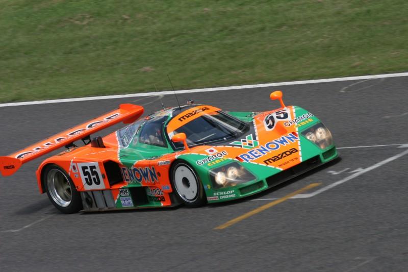 Mazda 787 at Le Mans