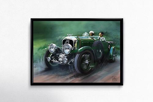 Bentley 4 1/2 poster