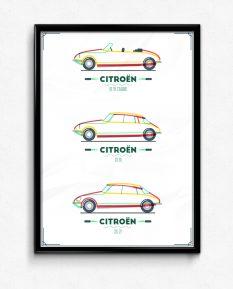 Citroen-DS-ID-Cabrio-poster-framed