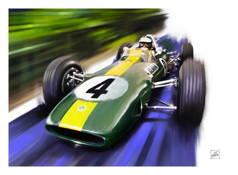 Lotus-33-Jim-Clark-art-print