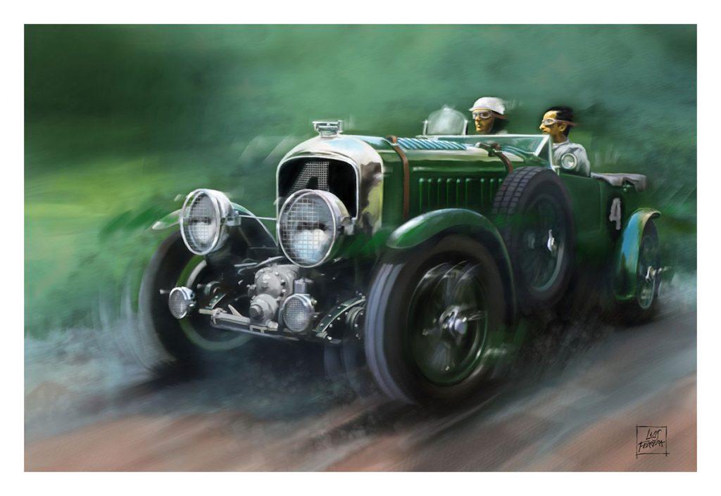 Bentley Blower art