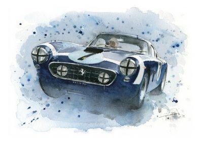 Ferrari 250 GT SWB art