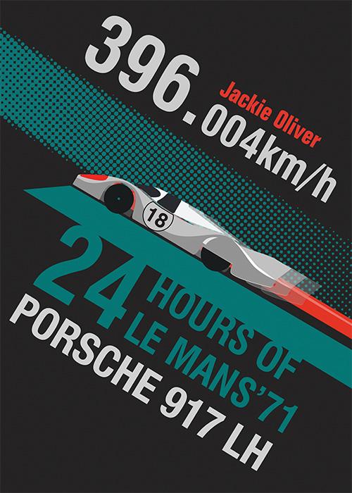 Porsche 917 LH poster