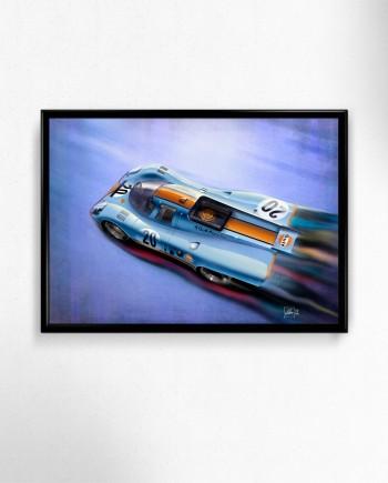 Porsche-917K-gulf-liver-art-poster-print-framed-2