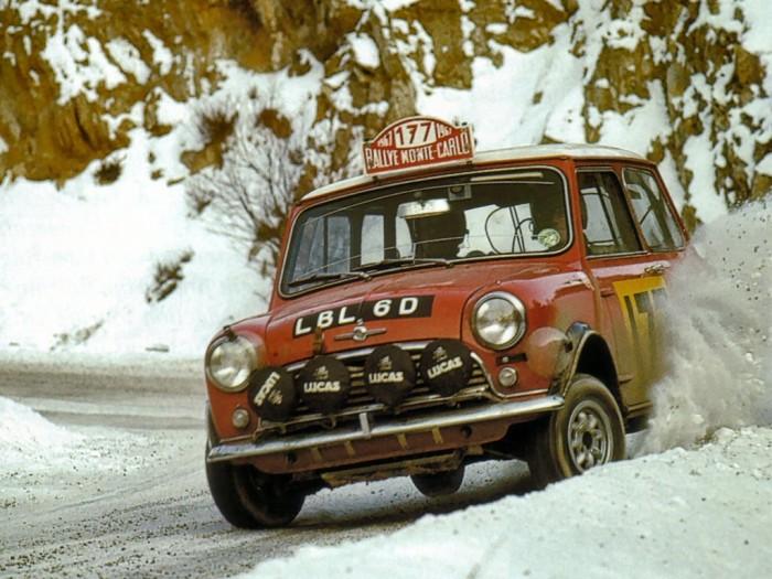1967 Rally Monte Carlo Morris Mini Cooper S Rauno Aaltonen Henry Liddon