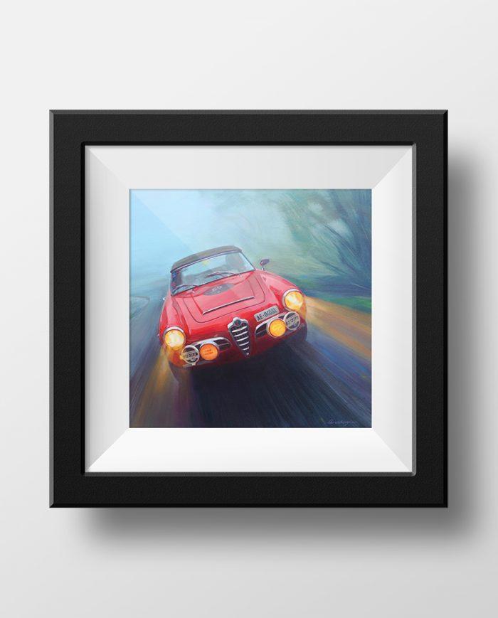 Alfa Romeo Giulietta poster