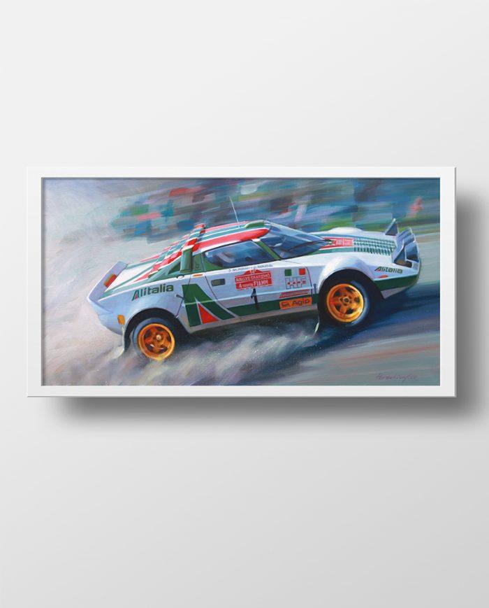 Lancia Stratos poster