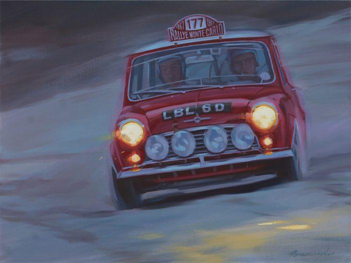 MINI Cooper S rally art