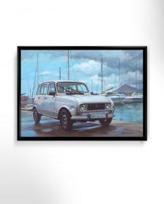 Renault-4-petr-pereshivailov-art-poster-print-1