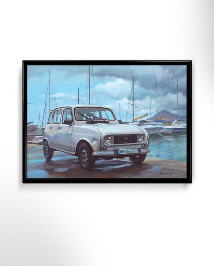 Renault R4 poster