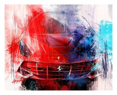 Ferrari F12 art