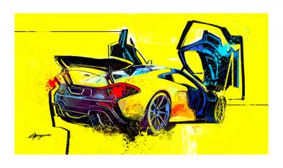 McLaren_P1 art