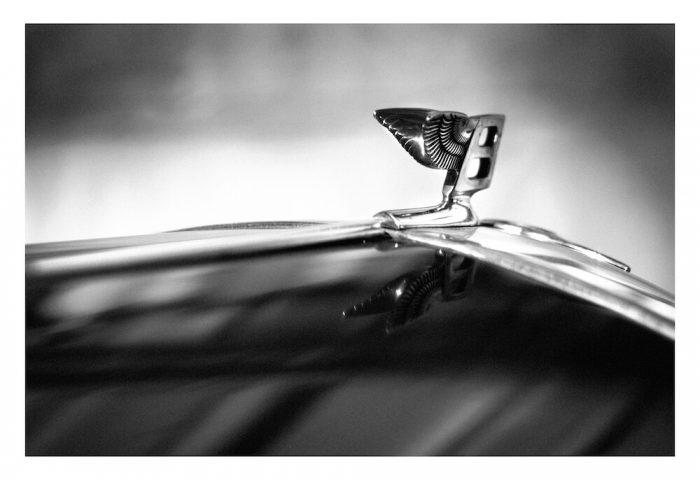 Bentley S2-photography-hood-ornament-car-wall-art