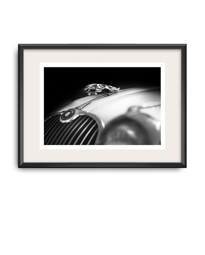 Jaguar XK 150 poster