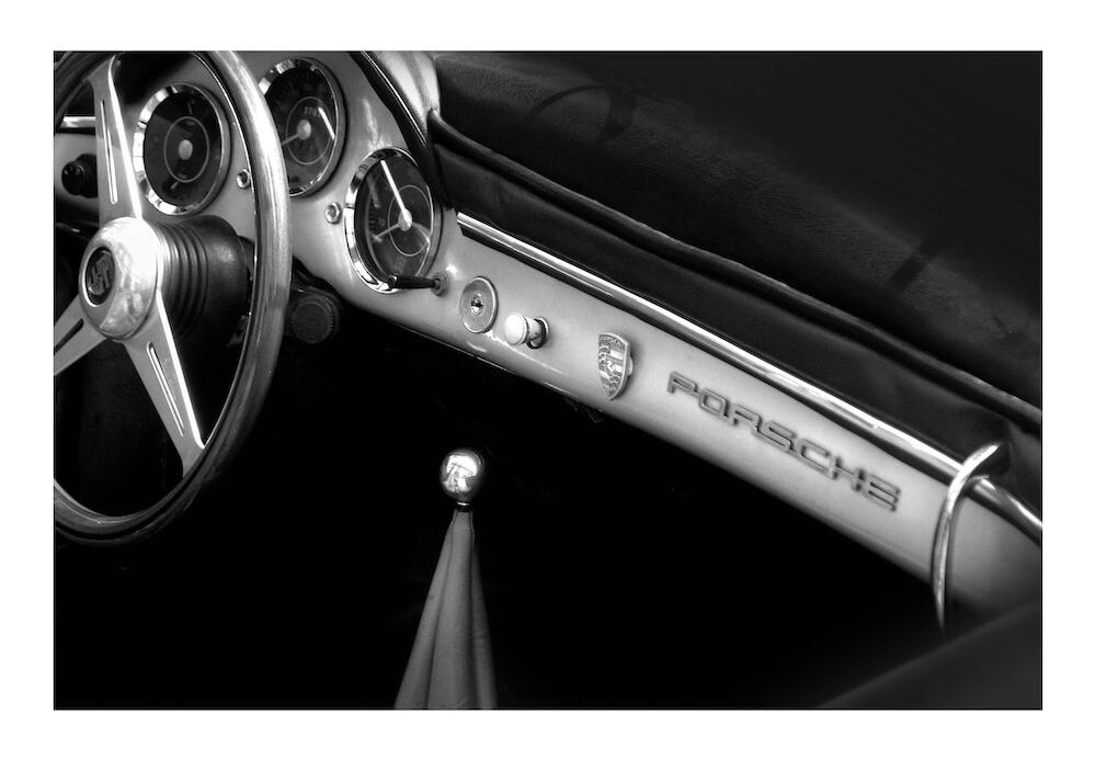 Porsche 356-interior-photo-art-wall-art