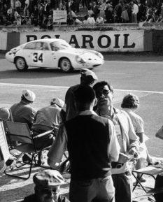 Alfa Romeo Giulietta SZ at 1963 Le Mans_detail