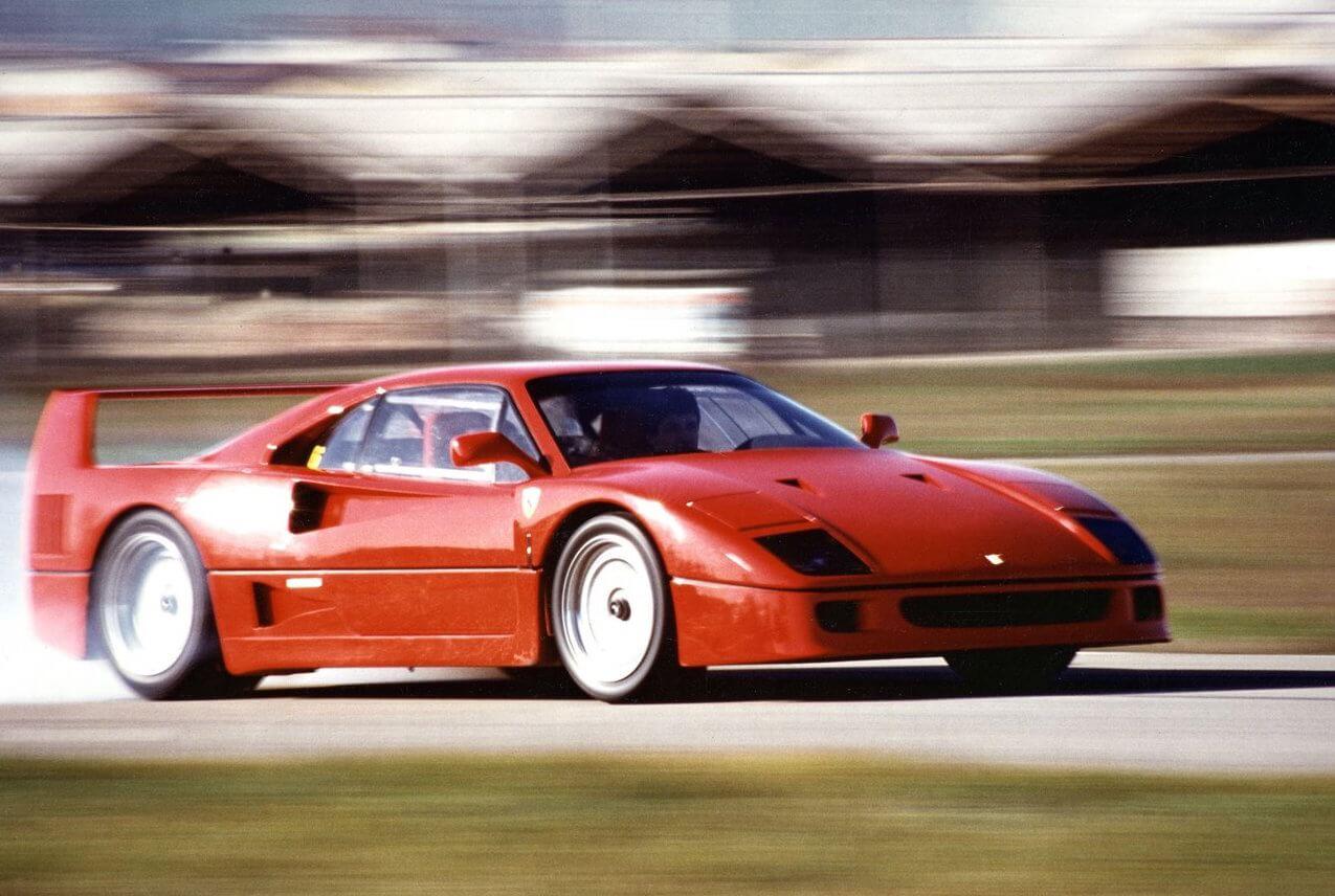 Ferrari-F40-history