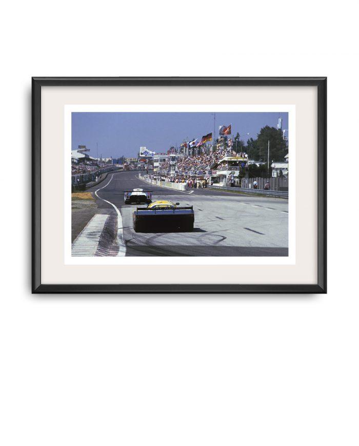 Porsche 956B poster Le mans