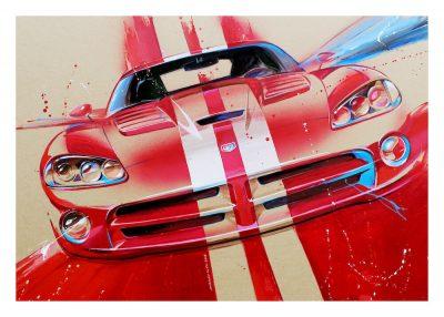 Dodge Viper art print
