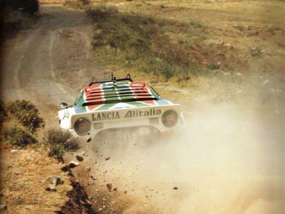 Lancia Stratos Alitalia WRC