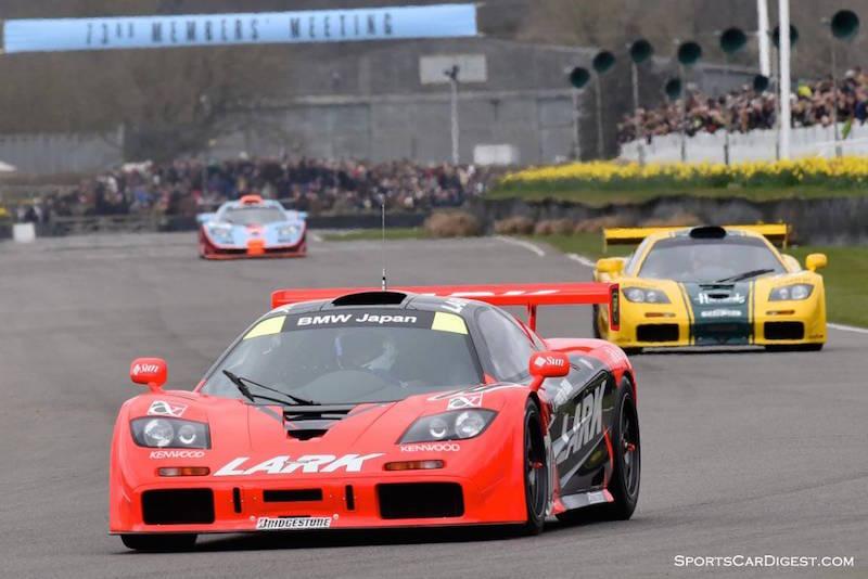 Team Lark 1996 McLaren F1 GTR chassis 13R