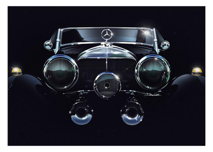 Mercedes-Benz 540K art