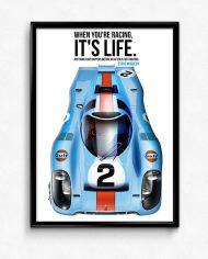 porsche-917-gulf-steve-mcqueen-lemans-poster-framed