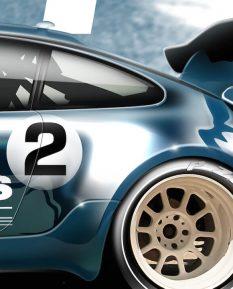 Porsche Rothmans_detail