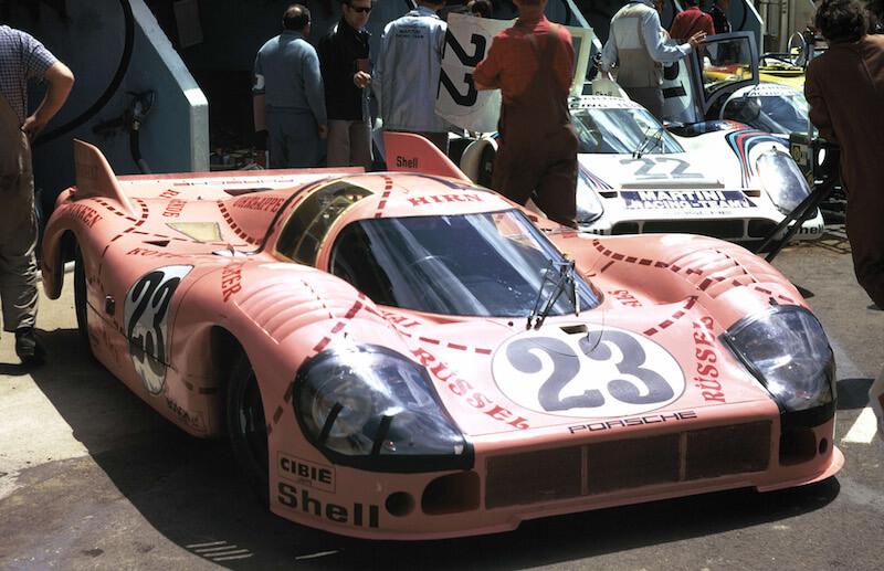 Porsche 917/20 Ping Pig Le Mans 1971 livery