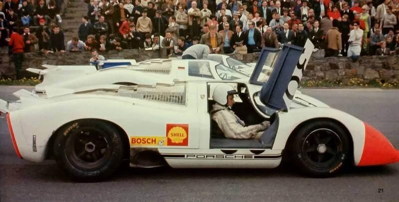 Porsche 917 LH-69 Spa 1000 km