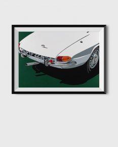 Alfa-Romeo-Duetto-Spider-Osso-di-Seppia-poster-art-framed