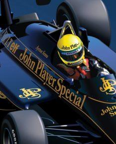 Ayrton Senna Lotus 97T_detail