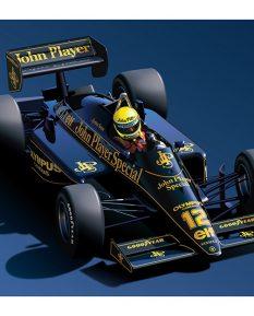 Ayrton-Senna-Lotus-art