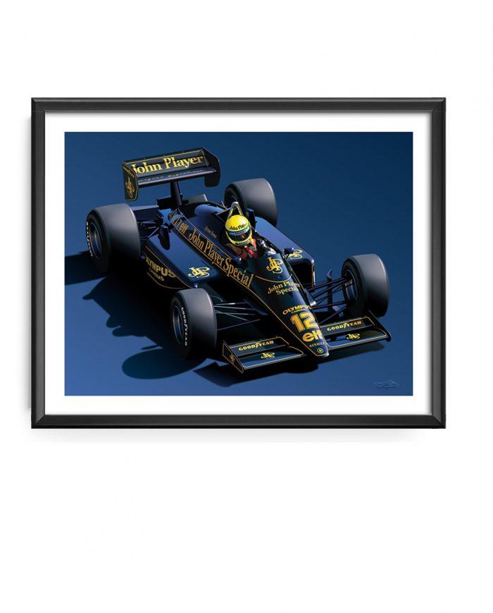 Senna Lotus T97 art