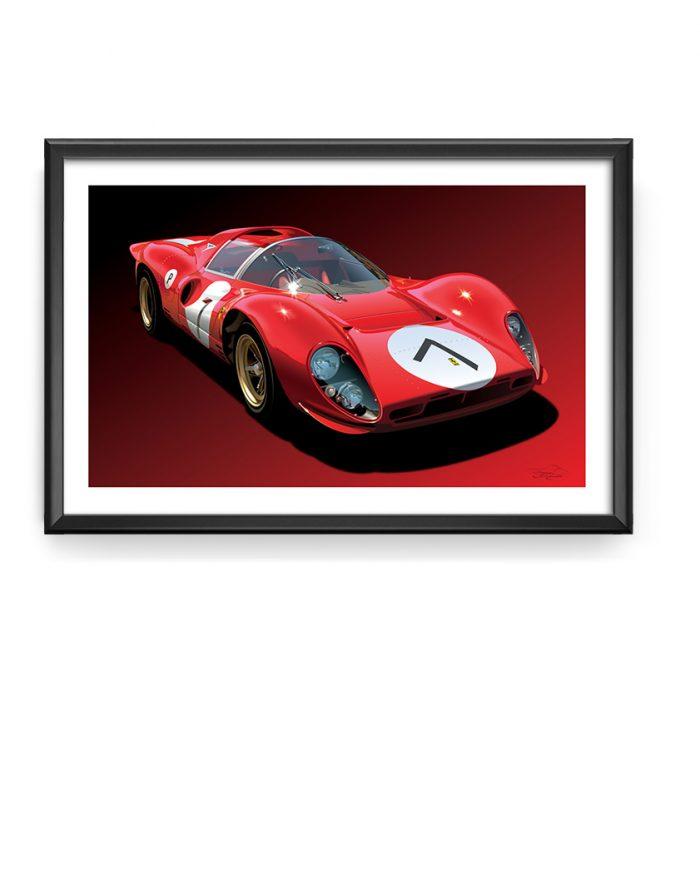 Ferrari P4 art
