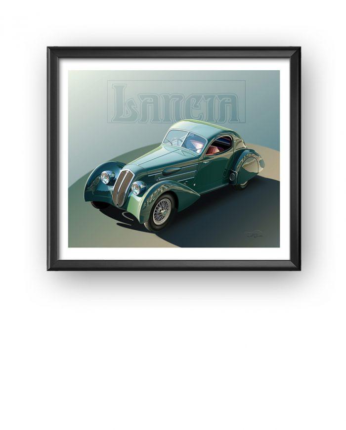 Lancia Aerodinamica art
