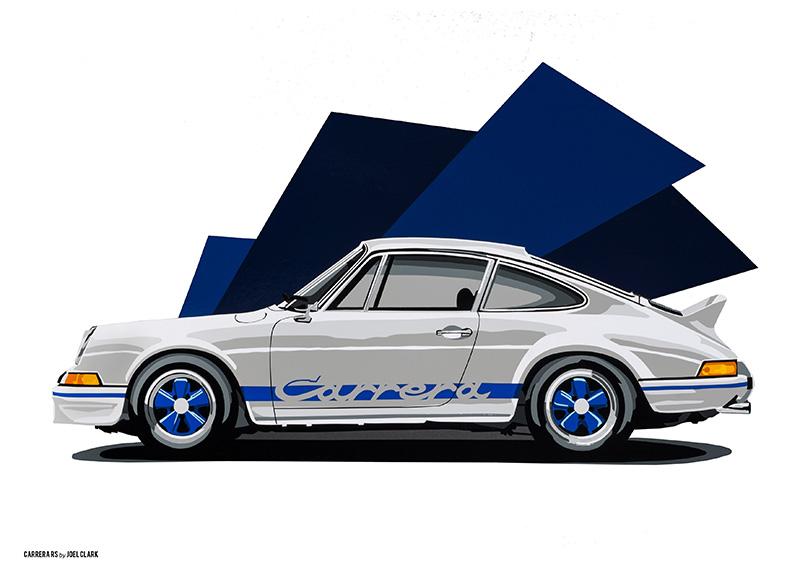 Porsche 911 RS art