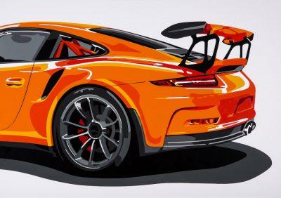 Porsche 911 GT3 art