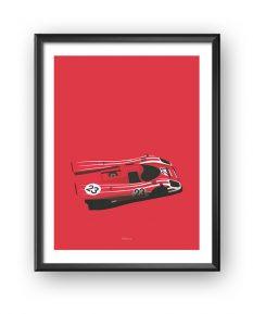 Porsche-917-Salzburg-poster-framed