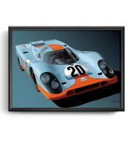 Porsche-917K-Gulf-livery-art-framed