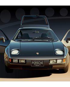 Porsche-928-art