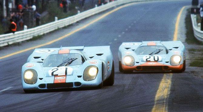 Porsche 917K-71 Gulf #20 3rd Le Mans
