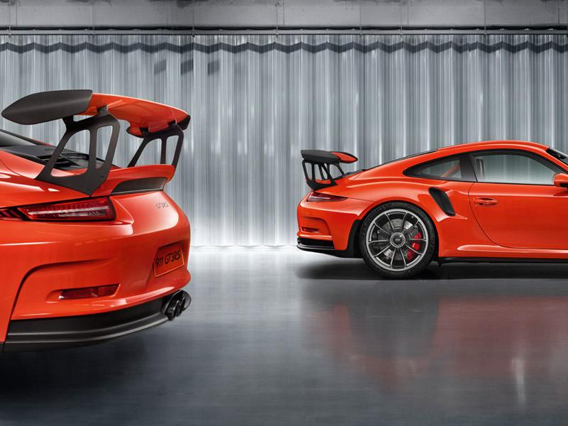 Porsche 911 GT3 991 orange 2014